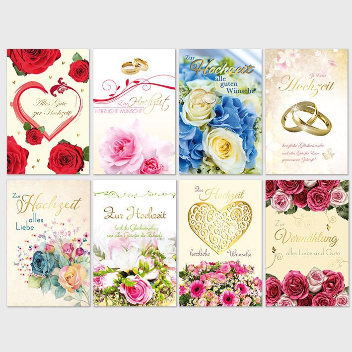 Hochzeitskarten Sortiment